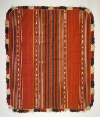 Aymara. Poncho, early 20th century. Wool, camelid fiber, 56 x 67 in. (142.2 x 170.2 cm). Brooklyn Museum, Alfred T. White Fund, 30.1165.11. Creative Commons-BY