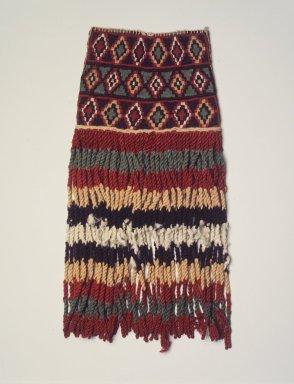 Inca. Bag Tassel, 1400 - 1532. Cotton, camelid fiber, 15 x 7 in. (38.1 x 17.8 cm). Brooklyn Museum, Gift of George D. Pratt, 30.1183. Creative Commons-BY