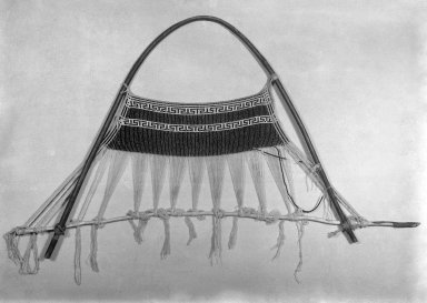 Arekuna (Taulipang). Apron on Loom. Blue and white beads strung on cotton thread Brooklyn Museum, Museum Expedition 1930, Robert B. Woodward Memorial Fund and the Museum Collection Fund, 30.1358. Creative Commons-BY