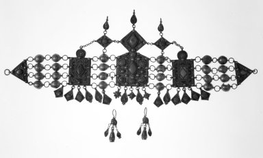 Jewelry. Silver Brooklyn Museum, Museum Collection Fund, 31.110. Creative Commons-BY