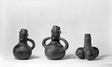 Mangbetu. Anthropomorphic Pot, early 20th century. Terracotta, 8 x 5 3/4 x 4 1/2 in. (20.0 x 14.7 x 11.5 cm). Brooklyn Museum, Museum Expedition 1931, Robert B. Woodward Memorial Fund, 31.1761. Creative Commons-BY