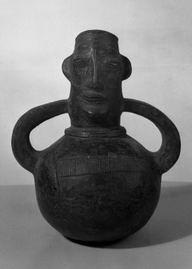 Mangbetu Mayogu. Anthropomorphic Pot, early 20th century. Terracotta Brooklyn Museum, Museum Expedition 1931, Robert B. Woodward Memorial Fund, 31.1823. Creative Commons-BY