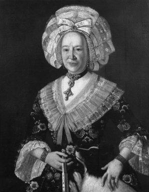 Danish Woman in Costume. Oil on canvas, 36 13/16 x 29 1/4 in.  (93.5 x 74.3 cm). Brooklyn Museum, Gift of Mrs. Frederic B. Pratt, 31.226