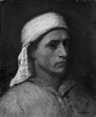 William Sartain (American, 1843-1924). Arab Head, ca. 1880. Oil, 18 1/8 x 15 1/16 in. (46 x 38.2 cm). Brooklyn Museum, Gift of the children of John J. Walton, 31.765