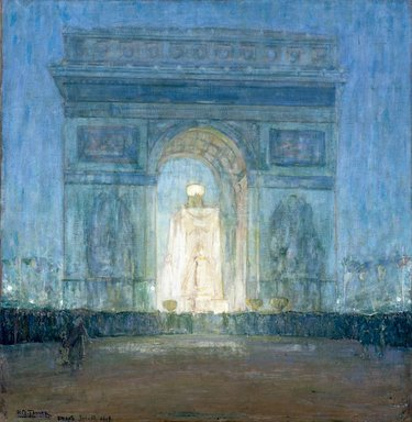 Henry Ossawa Tanner (American, 1859-1937). The Arch, 1919. Oil on canvas, 39 1/4 x 38 3/16 in. (99.7 x 97 cm). Brooklyn Museum, Gift of Alfred W. Jenkins, 32.10