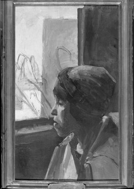 Jean Hippolyte Marchand (French, 1883-1940). Study, n.d. Oil on canvas, 24 1/8 x 15 in. (61.3 x 38.1 cm). Brooklyn Museum, Gift of Mr. and Mrs. William Slocum Davenport, 32.124
