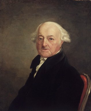 Brooklyn Museum: Portrait of John Adams
