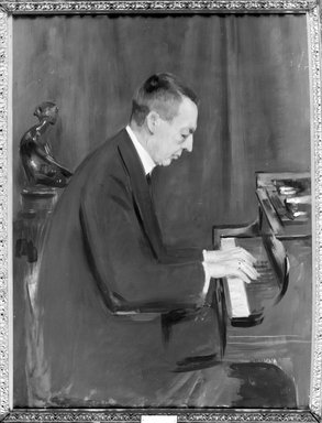 The Pianist: Sergei Rachmaninoff, ca. 1918-26. Oil on canvas, 48 1/8 x 36 in. (122.2 x 91.4 cm). Brooklyn Museum, Gift of the Estate of Emil Fuchs, 32.199.119