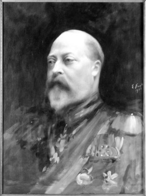 Emil Fuchs (American, 1866-1929). King Edward VII, 1903., Frame: 51 x 42 1/2 in. (129.5 x 108 cm). Brooklyn Museum, Gift of the Estate of Emil Fuchs, 32.199.78