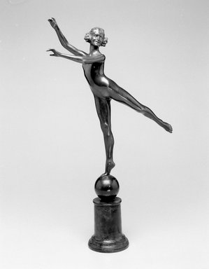 Emil Fuchs (American, 1866-1929). Arabesque, 1922. Bronze, 22 9/16 x 13 7/8 x 4 1/8 in. (57.3 x 35.2 x 10.5 cm). Brooklyn Museum, Gift of the Estate of Emil Fuchs, 32.2092.29. Creative Commons-BY