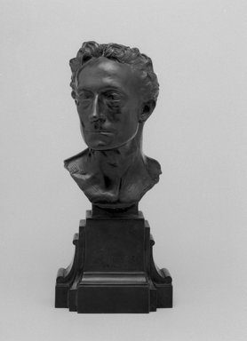 Emil Fuchs (American, 1866-1929). Sir Johnston Forbes-Robertson, 1898. Bronze, 10 1/16 x 4 1/2 x 3 7/8 in. (25.6 x 11.4 x 9.8 cm). Brooklyn Museum, Gift of the Estate of Emil Fuchs, 32.2092.4. Creative Commons-BY