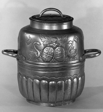 Milk Can with Two Handles, 18th century., Height (including cover): 11 3/8 in. (28.9 cm). Brooklyn Museum, Bequest of Margaret S. Bedell, 32.360. Creative Commons-BY