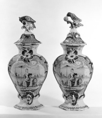 Brooklyn Museum: Vase with Top