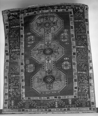 Bergama Carpet, 18th century. Wool, Old Dims: 80 1/2 x 65 3/4 in. (204.5 x 167 cm). Brooklyn Museum, Gift of the executors of the Estate of Colonel Michael Friedsam, 32.547. Creative Commons-BY