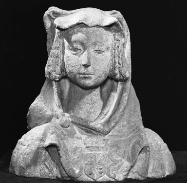 Brooklyn Museum: Bust of a Woman