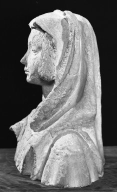 Bust of a Woman, 16th century. Stone, 19 inches high. Brooklyn Museum, Gift of the executors of the Estate of Colonel Michael Friedsam, 32.679. Creative Commons-BY