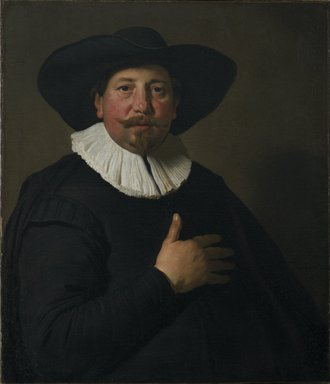 Jacob Adriaensz. Backer (Dutch, 1608/9-1651). Portrait of a Man, ca. 1637-1638. Oil on canvas, 29 3/4 x 25 5/8 in. (75.6 x 65.1 cm). Brooklyn Museum, Gift of the executors of the Estate of Colonel Michael Friedsam, 32.793