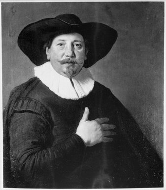 Brooklyn Museum: Portrait of a Man