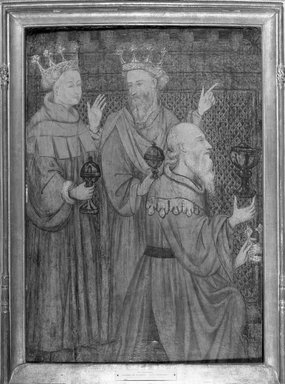 Unknown. The Magi, ca. 1410. Tempera on panel, 30 3/4 x 21 3/4 in. (78.1 x 55.2 cm). Brooklyn Museum, Gift of the executors of the Estate of Colonel Michael Friedsam, 32.816