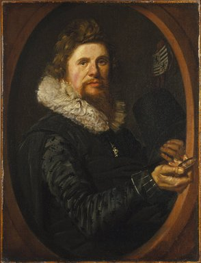 Frans Hals (Dutch, ca. 1580-1666). Portrait of a Man, ca. 1614-1615. Oil on canvas, 29 x 21 3/4 in. (73.7 x 55.2 cm). Brooklyn Museum, Gift of the executors of the Estate of Colonel Michael Friedsam, 32.821