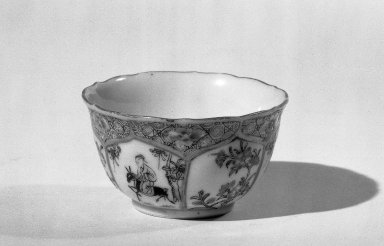 Cup and Saucer, 1723-1735. Porcelain with famille rose decoration, Saucer: 13/16 x 4 1/2 in. (2 x 11.4 cm). Brooklyn Museum, Gift of the executors of the Estate of Colonel Michael Friedsam, 32.978a-b. Creative Commons-BY