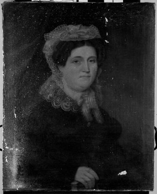John Paradise (American, 1783-1833). Mrs. John Baltic Gassner, 1827. Oil on canvas, 29 15/16 x 24 in. (76 x 61 cm). Brooklyn Museum, Bequest of George H. Betts, 33.143
