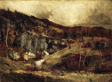 Robert Crannell Minor (American, 1839-1904). In the Adirondacks, ca. 1890. Oil on canvas, 22 1/16 x 29 15/16 in. (56 x 76.1 cm). Brooklyn Museum, Gift of Cornelia E. and Jennie A. Donnellon, 33.268