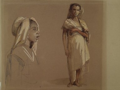 Brooklyn Museum: Kabyle Children (Enfants Kabyles)