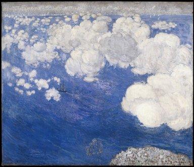Boris Anisfeld (Russian, 1879-1973). Clouds over the Black Sea--Crimea, 1906. Oil on canvas, 49 1/2 x 56 in. (125.7 x 142.2 cm). Brooklyn Museum, Gift of Boris Anisfeld in memory of his wife, 33.416