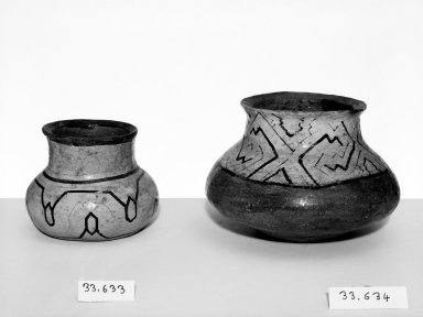 Conibo. Small Pot. Pottery Brooklyn Museum, Museum Expedition 1933, Purchased with funds given by Jesse Metcalf, 33.634. Creative Commons-BY