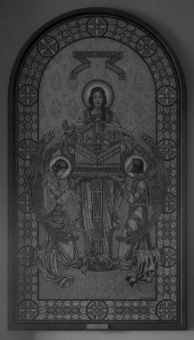 The J. and R. Lamb Studios. St. Cecilia, 1933. Mosaic, Image: 134 3/4 x 72 in. (342.3 x 182.9 cm). Brooklyn Museum, Bequest of Ina L. Thursby, 33.721. Creative Commons-BY