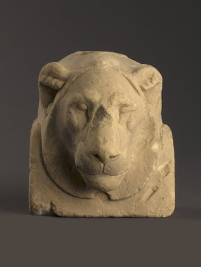 Sculptor's Model Bust of a Lion, 664 B.C.E.-30 B.C.E. Limestone, 6 x 5 3/8 x 4 5/16 in. (15.2 x 13.7 x 11 cm). Brooklyn Museum, Charles Edwin Wilbour Fund, 34.1003. Creative Commons-BY