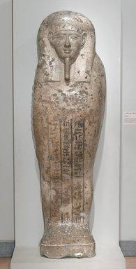 Sarcophagus Lid of Pa-di-Djehuti, ca. 305-30 B.C.E. Limestone, 82 x 24 1/2 x 14 1/2 in., 920 lb. (208.3 x 62.2 x 36.8 cm, 417.31kg). Brooklyn Museum, Charles Edwin Wilbour Fund, 34.1221. Creative Commons-BY