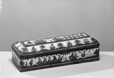 Writing Case, early 19th century. Lacquer Brooklyn Museum, Brooklyn Museum Collection, 34.126. Creative Commons-BY