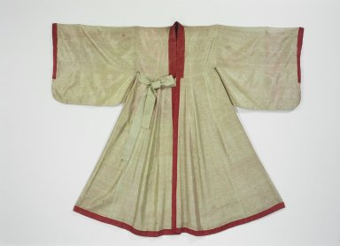 Confucian Scholar's Robe (Simeui), 19th-early 20th century. Silk, 52 3/16 x 66 1/8 in. (132.5 x 168 cm). Brooklyn Museum, Brooklyn Museum Collection, 34.1283. Creative Commons-BY
