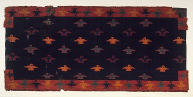 Nasca. Mantle, 0-100 C.E. Camelid fiber, 108 11/16 x 50 13/16 in. (276.1 x 129.1 cm). Brooklyn Museum, Alfred W. Jenkins Fund, 34.1553