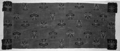 Nasca. Mantle, 0-100 C.E. Camelid fiber, 104 3/4 x 38 3/16 in. (266.1 x 97 cm). Brooklyn Museum, Alfred W. Jenkins Fund, 34.1556. Creative Commons-BY