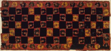 Nasca. Mantle, 0-100 C.E. Cotton, camelid fiber, 117 11/16 x 53 15/16 in. (298.9 x 137 cm). Brooklyn Museum, Alfred W. Jenkins Fund, 34.1558. Creative Commons-BY
