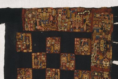 Nasca. Skirt, 100-200 C.E. Camelid fiber, 116 9/16 x 26 3/8 in.  (296.0 x 67.0 cm). Brooklyn Museum, Alfred W. Jenkins Fund, 34.1593. Creative Commons-BY