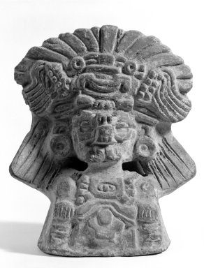 Zapotec. Funerary Urn. Pottery Brooklyn Museum, Brooklyn Museum Collection, 34.585. Creative Commons-BY