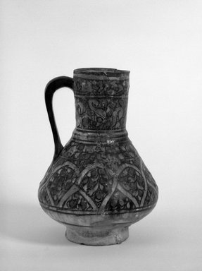 Ewer, 14th century. Ceramic, 9 3/4 x 7 in. (24.8 x 17.8 cm). Brooklyn Museum, 34.6032DUP1. Creative Commons-BY