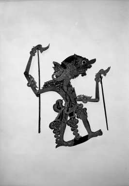Shadow Play Figures. Parchment Brooklyn Museum, Brooklyn Museum Collection, 34.68. Creative Commons-BY
