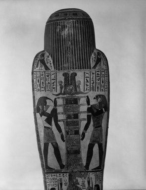Brooklyn Museum: Cartonnage of Nespanetjerenpere