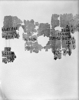 Brooklyn Museum: Historical Papyrus in Five Pieces