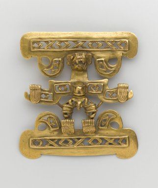 Gold Pendant in Form of Anthropomorphic Being