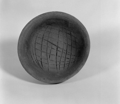 Pot, Pointed Bottom. Clay Brooklyn Museum, Ella C. Woodward Memorial Fund, 35.1746. Creative Commons-BY