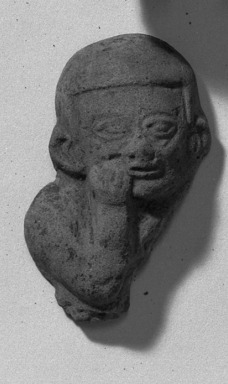 Fragment of Flat Figure. Clay Brooklyn Museum, Gift of Dr. Ernest Franco, 35.1807. Creative Commons-BY