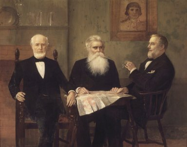 Edwin Howland Blashfield (American, 1848-1936). The Governor's Grandsons, 1894. Oil on canvas, 67 x 84 3/4 in. (170.2 x 215.2 cm). Brooklyn Museum, Gift of Theodora Wilbour, 35.1861