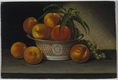 Brooklyn Museum: Still Life with Peaches