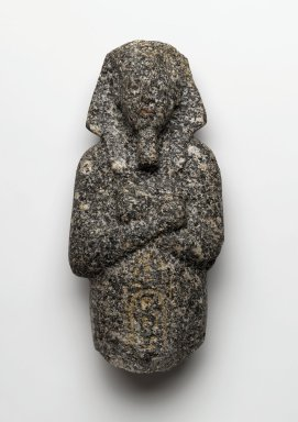 Ushabti of Akhenaten, ca. 1352-1336 B.C.E. Granite, 7 3/16 x 3 5/16 x 1 15/16 in. (18.3 x 8.4 x 5 cm). Brooklyn Museum, Charles Edwin Wilbour Fund, 35.1870. Creative Commons-BY